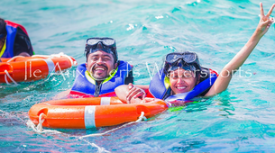 Snorkeling-Trou d'Eau Douce & Ile aux Cerfs-Snorkeling on South East Islands Discovery, Mauritius-3