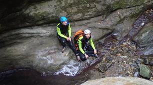 Canyoning-Castelnuovo di Garfagnana-Canyon des Rio Selvano bei Florenz-5