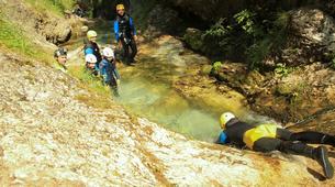 Canyoning-Bovec-Sucec canyon near Bovec, Slovenia-4