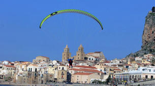 Parapente-Palermo-Tandem paragliding flight over Palermo-5