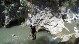 Canyoning-Sierra de las Nieves Natural Park-Canyoning at Zarzalones Gorge in Sierra de las Nieves, near Málaga-16