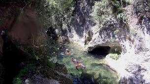Canyoning-Sierra de las Nieves Natural Park-Canyoning at Zarzalones Gorge in Sierra de las Nieves, near Málaga-10