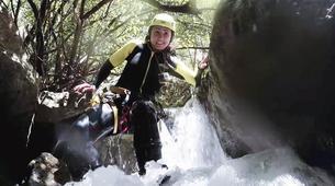 Canyoning-Sierra de las Nieves Natural Park-Canyoning at Zarzalones Gorge in Sierra de las Nieves, near Málaga-9