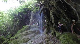 Canyoning-Sierra de las Nieves Natural Park-Canyoning at Zarzalones Gorge in Sierra de las Nieves, near Málaga-15