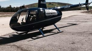 Helicopter tours-Mount Etna-Private Helicopter flight over Mt. Etna and Taormina-5