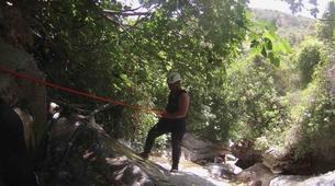 Canyoning-Sierra de las Nieves Natural Park-Canyoning at Zarzalones Gorge in Sierra de las Nieves, near Málaga-13