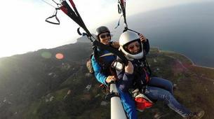 Parapente-Palermo-Tandem paragliding flight over Palermo-3