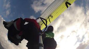Parapente-Palermo-Tandem paragliding flight over Palermo-2