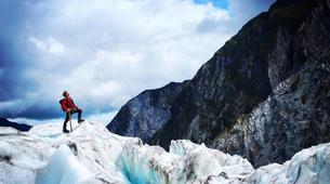 Helicopter tours-Franz Josef Glacier-Glacier Heli Hike in Franz Josef Glacier + Hot Pools Entry-1
