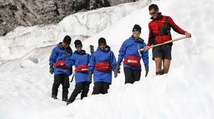 Helicopter tours-Franz Josef Glacier-Glacier Heli Hike in Franz Josef Glacier + Hot Pools Entry-7