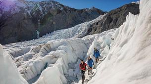 Helicopter tours-Franz Josef Glacier-Glacier Heli Hike in Franz Josef Glacier + Hot Pools Entry-9