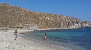 Sailing-Mykonos-All Inclusive Sailing Yacht Cruise to South Mykonos Beach, Rhenia & Delos Islands-5