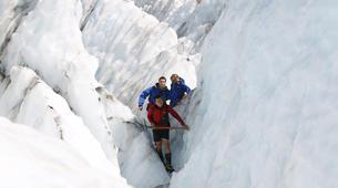 Helicopter tours-Franz Josef Glacier-Glacier Heli Hike in Franz Josef Glacier + Hot Pools Entry-5