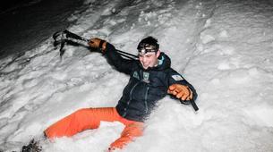 Raquette à Neige-Megève, Evasion Mont Blanc-Randonnée Nocturne Raquettes à Neige à Megève-3