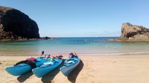 Kayak de mer-Playa Blanca, Lanzarote-Excursions en kayak de mer à Playa Papagayo-8