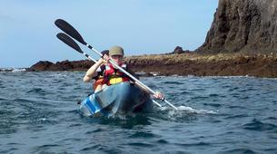 Kayak de mer-Playa Blanca, Lanzarote-Excursions en kayak de mer à Playa Papagayo-1