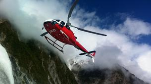 Helicopter tours-Franz Josef Glacier-Glacier Heli Hike in Franz Josef Glacier + Hot Pools Entry-4
