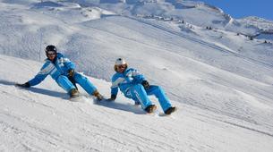 Snow Experiences-La Clusaz, Massif des Aravis-Downhill Yooner session in La Clusaz-2