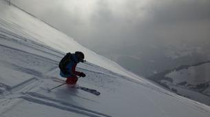 Backcountry Skiing-La Clusaz, Massif des Aravis-Freeride skiing and snowboarding in La Clusaz-6