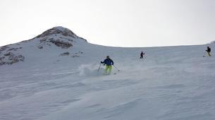 Freeride-Cortina d'Ampezzo-Backcountry skiing in Marmolada Glacier near Cortina d'Ampezzo-4