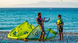 Kitesurfing-Rhodes-Beginner and Intermediate Kitesurfing courses in Kremasti, Rhodes-4