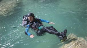 Canyoning-Gorges du Verdon-Randonnée Aquatique journée dans le Grand Canyon du Verdon-2