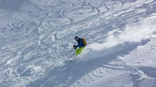Freeride-Cortina d'Ampezzo-Backcountry skiing in Marmolada Glacier near Cortina d'Ampezzo-8