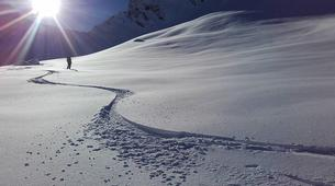 Ski touring-La Clusaz, Massif des Aravis-Ski touring day trip in La Clusaz-4