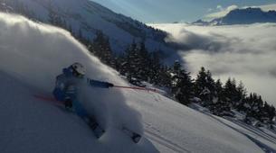 Backcountry Skiing-La Clusaz, Massif des Aravis-Freeride skiing and snowboarding in La Clusaz-1