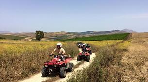 Quad-Calatafimi-Segesta-Quad biking to Polle del Crimiso-4