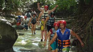 Canyoning-Puerto Plata-Aquatic hiking in the Damajagua Falls near Puerto Plata-4