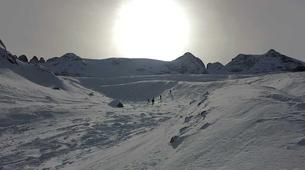 Freeride-Cortina d'Ampezzo-Backcountry skiing in Marmolada Glacier near Cortina d'Ampezzo-7