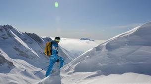Ski touring-La Clusaz, Massif des Aravis-Ski touring day trip in La Clusaz-1
