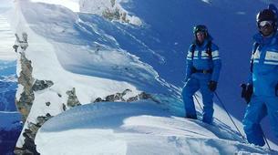 Ski touring-La Clusaz, Massif des Aravis-Ski touring day trip in La Clusaz-2