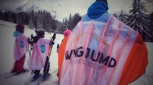 Snow Experiences-La Clusaz, Massif des Aravis-Wingjump discovery course in La Clusaz-1