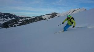 Backcountry Skiing-La Clusaz, Massif des Aravis-Freeride skiing and snowboarding in La Clusaz-3