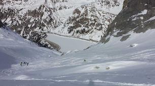 Freeride-Cortina d'Ampezzo-Backcountry skiing in Marmolada Glacier near Cortina d'Ampezzo-6