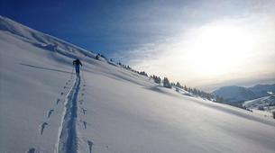 Ski touring-La Clusaz, Massif des Aravis-Ski touring day trip in La Clusaz-3