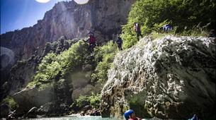 Canyoning-Gorges du Verdon-Randonnée Aquatique journée dans le Grand Canyon du Verdon-3