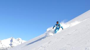 Backcountry Skiing-La Clusaz, Massif des Aravis-Freeride skiing and snowboarding in La Clusaz-4