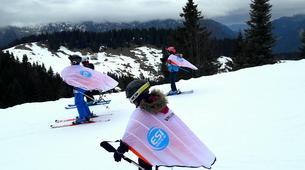 Snow Experiences-La Clusaz, Massif des Aravis-Wingjump discovery course in La Clusaz-2