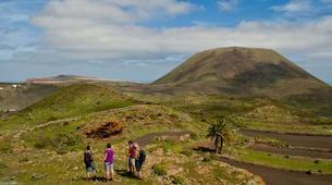 Randonnée / Trekking-Lanzarote-Randonnée au Volcan de la Corona et aux falaises de Famara à Lanzarote-2