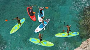 Paddle surf-Niza-SUP excursion in Cap Martin near Nice-3