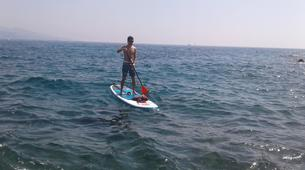 Paddle surf-Niza-SUP excursion in Cap Martin near Nice-2
