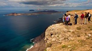 Randonnée / Trekking-Lanzarote-Randonnée au Volcan de la Corona et aux falaises de Famara à Lanzarote-8