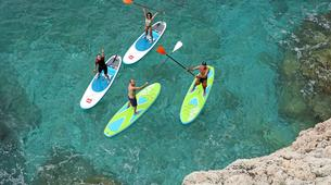 Paddle surf-Niza-SUP excursion in Cap Martin near Nice-1