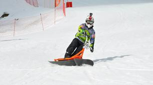 Snow Experiences-Val Cenis, Haute Maurienne-Snowscoot initiation in Val Cenis-1