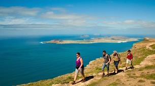 Randonnée / Trekking-Lanzarote-Randonnée au Volcan de la Corona et aux falaises de Famara à Lanzarote-7