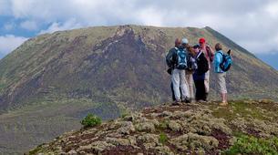 Randonnée / Trekking-Lanzarote-Randonnée au Volcan de la Corona et aux falaises de Famara à Lanzarote-9