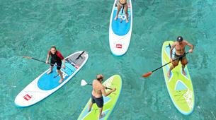 Paddle surf-Niza-SUP excursion in Cap Martin near Nice-5